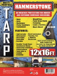18 Units of Light Weight Tarps Blue - Tarps