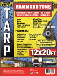 15 Units of Light Weight Tarps Blue - Tarps