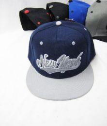 36 Units of New York Snapbacks Caps Assorted Colors - Baseball Caps & Snap Backs