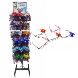 576 Units of Reading Glasses with Metal Display Rack - Reading Glasses