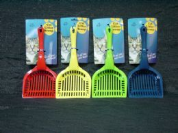36 Units of CAT LITTER SCOOP - Pet Grooming Supplies