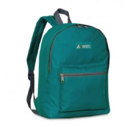 "30 Units of Everest Basic Color Block Backpack In Teal - Backpacks 15"" or Less"