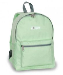 "30 Units of Everest Basic Color Block Backpack In Jade - Backpacks 15"" or Less"
