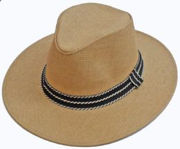36 Units of Men's Hat With Band - Sun Hats