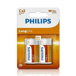 24 Units of Super Heavy Duty C Philips Battery - Batteries