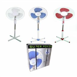 Stand Fan 16 Inches With Night Light - Electric Fans