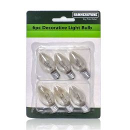 48 Units of 6 Pieces Decorative Light Bulb - Lightbulbs