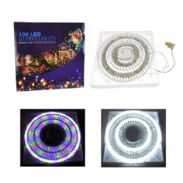 60 Units of 100 LED Christmas Lights - Lightbulbs
