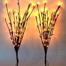 20 Units of Garden Light Willow Branch 60 LED Tree Light - Lightbulbs