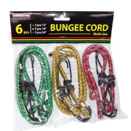 60 Units of 6 Pieces Stretch Cord - Bungee Cords