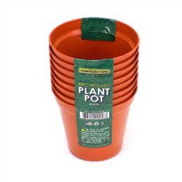 72 Units of 3 Inch Plastic Plant Pot 8 Pieces - Garden Planters and Pots