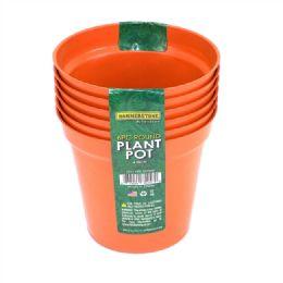 72 Units of 4 Inches Plastic Plant Pot 6 Pieces - Garden Planters and Pots