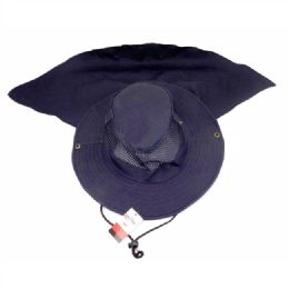 204 Units of Hat with Back Protector - Sun Hats