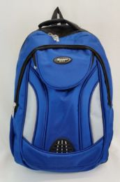 """24 Units of 19 Inch Constructed Heavy Duty Backpack In Royal Blue - Backpacks 18"""" or Larger"""