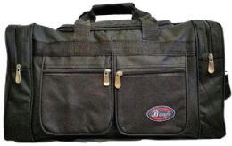 24 Units of 24 Inch Black Heavy Duty Duffel Bag - Duffel Bags