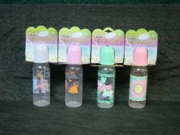 24 Units of BABY BOTTLE 8OZ WITH DESIGN - Baby Bottles