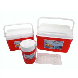 Cooler Box Set Red - Cooler & Lunch Bags