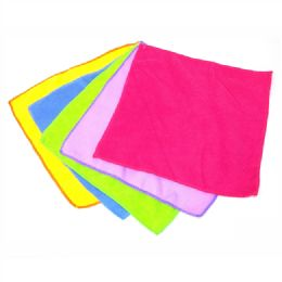 72 Units of Microfiber Cleaning Cloths - Cleaning Products