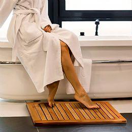 3 Units of Bamboo Mat - Bath Mats