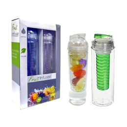 12 Units of Fruit Infuser - Drinking Water Bottle