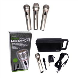 24 Units of Wireless Microphone with Case - Speakers and Microphones