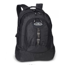 """30 Units of Everest Multiple Compartment Deluxe Backpack In Black - Backpacks 18"""" or Larger"""