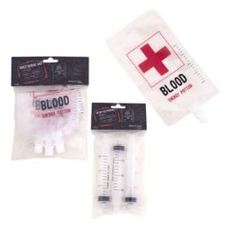 48 Units of Beverage Syringe Shot Or Drink Bags - Party Novelties