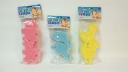 36 Units of 4 Piece Baby Bath Scrubber - Baby Beauty & Care Items