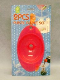 36 Units of 2 Piece Funnel set - Strainers & Funnels