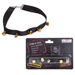 48 Units of Costume Cat Collar Accessory - Pet Collars and Leashes