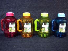 12 Units of Plastic Bottle with Flip Straw - Drinking Water Bottle