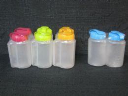 48 Units of Plastic 2 Piece Water Bottle Set - Drinking Water Bottle