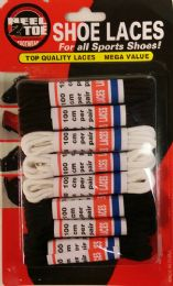 36 Units of 8 Pack Assorted Color Shoe Laces - Footwear Accessories
