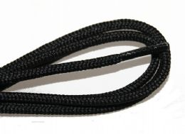 72 Units of 54 Inch Rounded Black Shoe Lace For Dress Shoes, And Casual Wear - Footwear Accessories