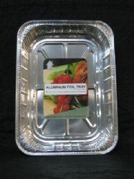 50 Units of Large Aluminum Rectangular Tray - Aluminum Pans