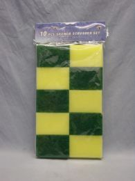 36 Units of 10 Piece Sponge Set - Cleaning Products