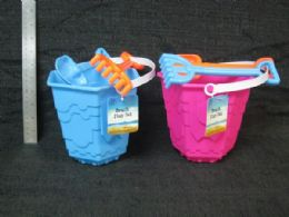 48 Units of 3 Piece Plastic Beach Toy Set - Beach Toys