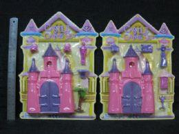 48 Units of Castle Play Set - Beach Toys