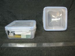 48 Units of Plastic Container with Tab Seal - Food Storage Containers