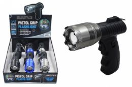 6 Units of Pistol Grip Led Flashlight - Flash Lights