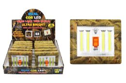 12 Units of COB LED CAMO DUAL LIGHT SWITCH ULTRA BRIGHT - Lamps and Lanterns