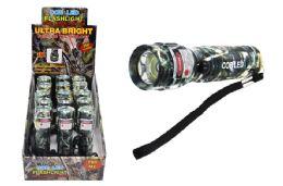 15 Units of COB LED CAMO FLASHLIGHT WITH LASER ULTRA BRIGHT - Flash Lights
