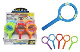 15 Units of COB LED COLORFUL MAGNIFYING GLASS - Magnifying  Glasses