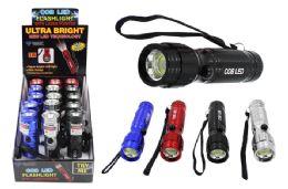 15 Units of COB LED FLASHLIGHT WITH LASER ULTRA BRIGHT - Flash Lights