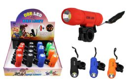 16 Units of COB LED FLASHLIGHT/BIKE LIGHT ULTRA BRIGHT - Flash Lights