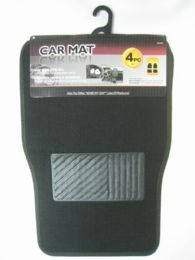 12 Units of 4 Piece Plastic Car Mat - Auto Sunshades and Mats
