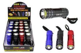 20 Units of COB LED METAL PROMO FLASHLIGHT ULTRA BRIGHT - Flash Lights