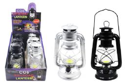 6 Units of COB LED METAL RAILROAD LANTERN ULTRA BRIGHT - Lamps and Lanterns