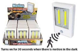18 Units of COB LED MOTION ACTIVATED LIGHT ULTRA BRIGHT - Lamps and Lanterns