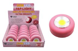18 Units of COB LED PINK TAP LIGHT ULTRA BRIGHT - Lamps and Lanterns